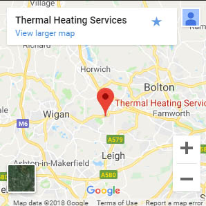 thermal heating map
